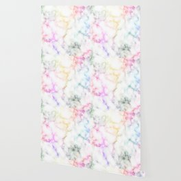 Colorful marble pattern Wallpaper