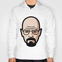 walter white Hoodies featuring Walter White by Joe Bidmead