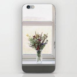 Flowers in a window iPhone Skin
