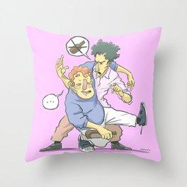 I think you had enough, friend. Throw Pillow