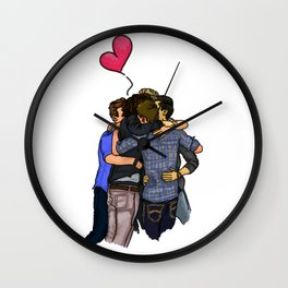 Ot5 Hug Wall Clock