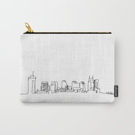 Nashville Skyline Drawing Carry-All Pouch