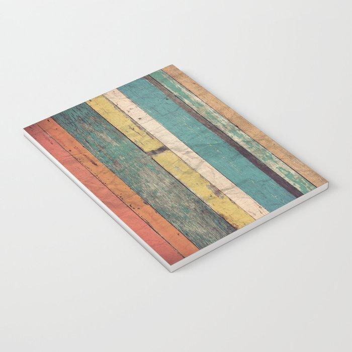 Wooden Vintage  Notebook