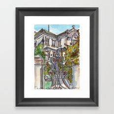House on Vasco Da Gama Framed Art Print
