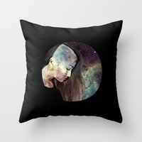 psychology Throw Pillows featuring Psychology Of Stylistic Change by mofart photomontages