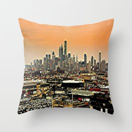 Philly Spread Throw Pillow