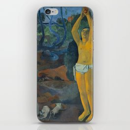 Paul Gauguin -Where Do We Come From? What Are We? Where Are We Going?, iPhone Skin
