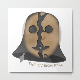The Division Bell Metal Print