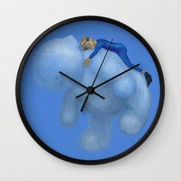 CLOUDY BEAR by Pascal Wall Clock