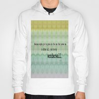 oasis Hoodies featuring Wonderwall - Oasis by Paxton Keating