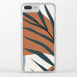 Abstract Art 35 Clear iPhone Case