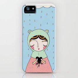 Let your heart grow stronger iPhone Case