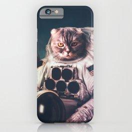 Beautiful cat astronaut iPhone Case