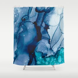 Ink no10 Shower Curtain