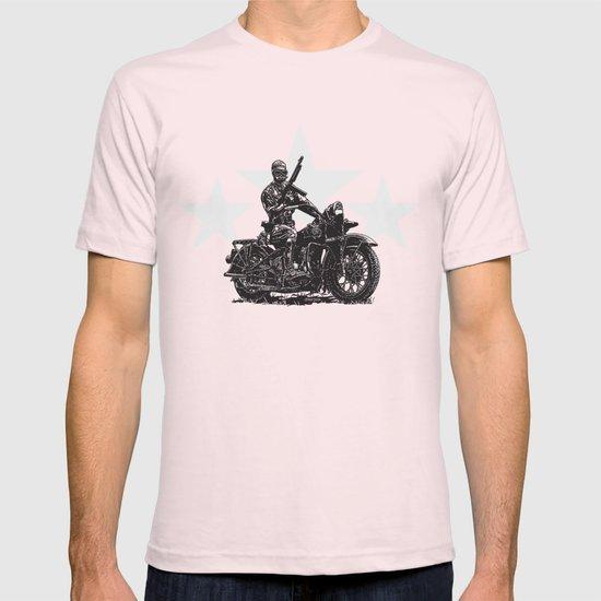 Military Harley T-shirt