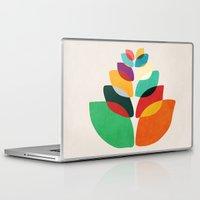 lotus flower Laptop & iPad Skins featuring Lotus flower by Picomodi