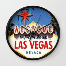 Ah Vegas... Wall Clock
