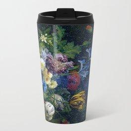 Interstellar master Floral Metal Travel Mug