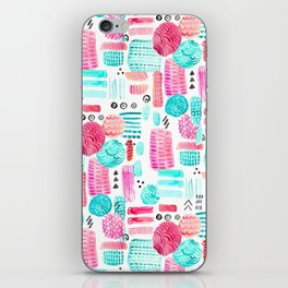 Dots, Circles and Dashes iPhone Skin