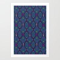 Stella Pattern Art Print