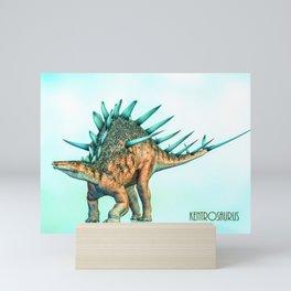 Kentrosaurus Mini Art Print