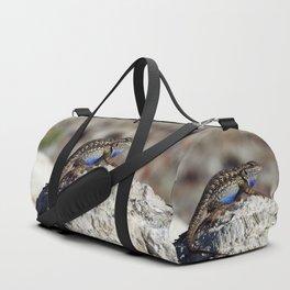Western Fence Lizard Duffle Bag