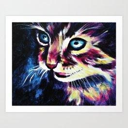 Cheshire Cat in a Good Mood Art Print