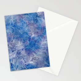 Frozen Leaves 11 Stationery Cards