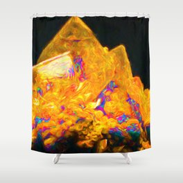 Crystal Castle Shower Curtain