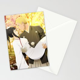 marriage Naruhina forest Stationery Cards