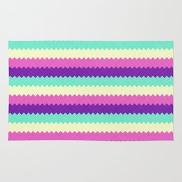 Rainbow Stripes 2 Rug