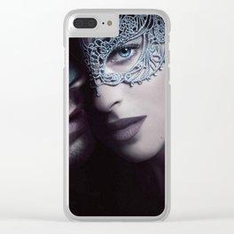Fifty Shades Darker - Anastasia Steele Clear iPhone Case