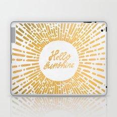Hello Sunshine Gold Laptop & iPad Skin