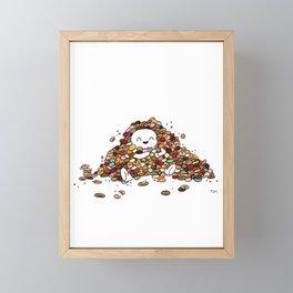 All the Cookies Are Mine Framed Mini Art Print