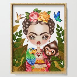 Frida Querida Serving Tray