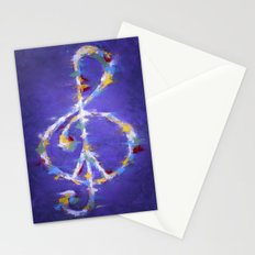 Music & Peace Stationery Cards