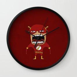 Screaming Flash Wall Clock
