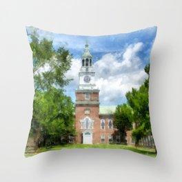 Dartmouth College Throw Pillow