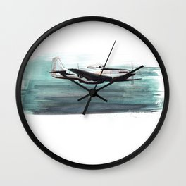Aqua Dreams Wall Clock