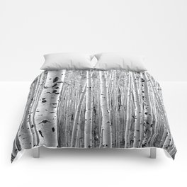 Aspen Tree Maze Comforters