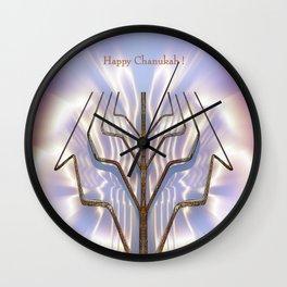 Happy Chanukah! Wall Clock