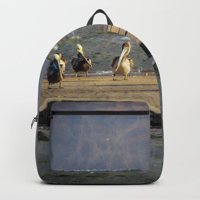 Mystic Magic Pelicans Backpack