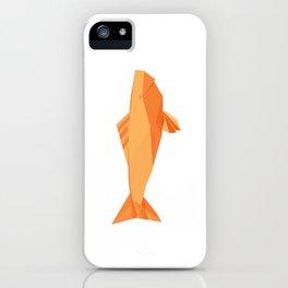 Origami Carp iPhone Case