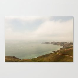 Coastal Drive Canvas Print