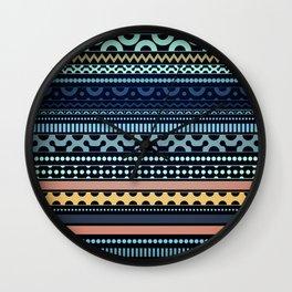 Aztec 1 Wall Clock