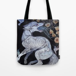 Fox & Poppies Tote Bag