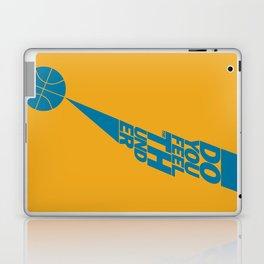Do You Feel the Thunder? (Orange) Laptop & iPad Skin