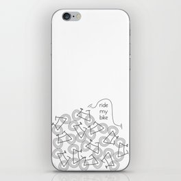 Ride my Bike iPhone Skin