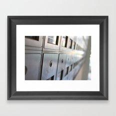 Mailtime Framed Art Print