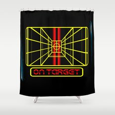 STAY ON TARGET... Shower Curtain